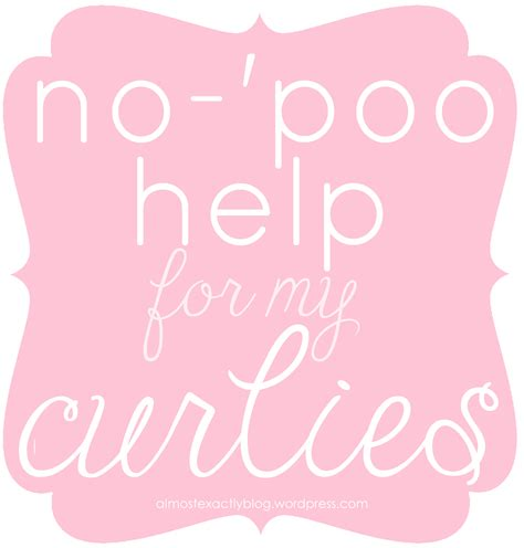 no poo for my curly no poo ers low poo ers almost exactly