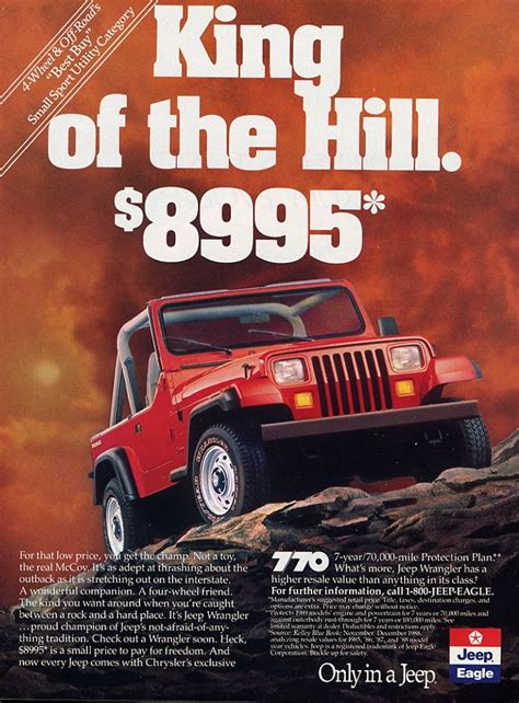 jeep wrangler ads automotive history the rebadging that never happened