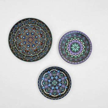 shop decorative hanging plates painted on wanelo