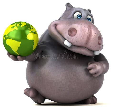 Hippo Nave hippo stock illustratie illustratie bestaande uit afrika