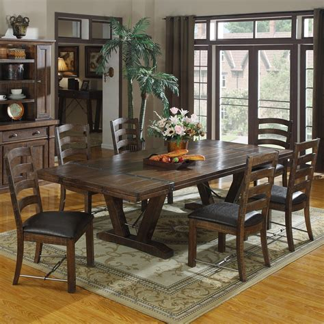 distressed dining room table set dining room design