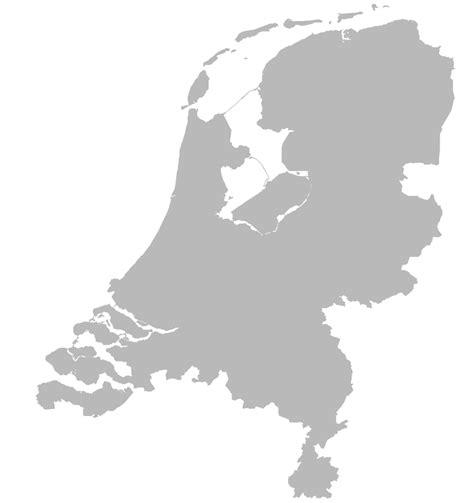 nederland white bestand blank map of the netherlands svg