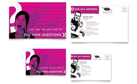 Postcards Non Profit Youth Education Templates Designs Outreach Plan For Non Profit Template