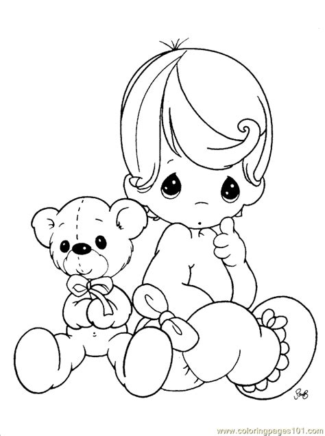 Precious Moments Coloring Pages Easter by Precious Moments Coloring Pages Coloring Home