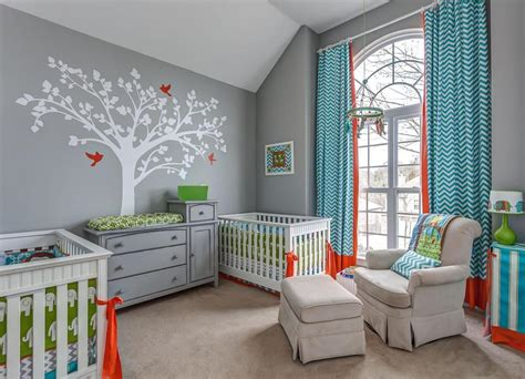 Twinning Gender Neutral Nursery Decor For Twins Neutral Boy Nursery Decor Ideas