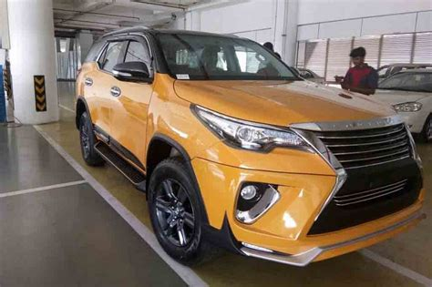 toyota fortuner customized  nippon body kit news