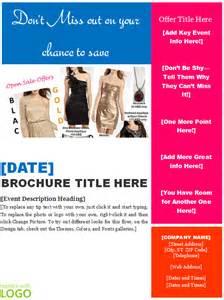pin word templates brochure template