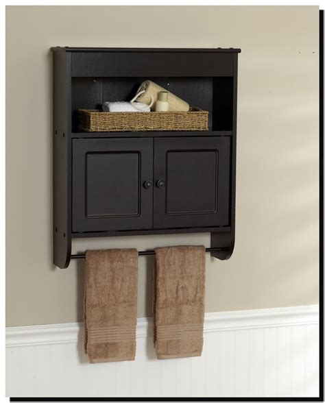 bathroom wall cabinet espresso espresso bathroom wall cabinet with towel bar thedancingparent com