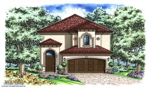 Mediterranean Style Home Plans by Narrow Lot Mediterranean House Plans Narrow Lot Designs 2