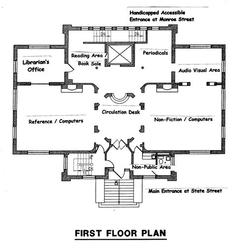 public floor plans finding your way around the library litchfield public