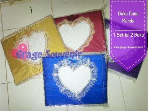 Buku Tamu Renda Warna buku tamu renda warna murah jual souvenir pernikahan