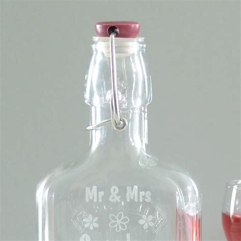 Wedding Gift Gin by Personalised Wedding Sloe Gin Bottle By Chalk And Cheese