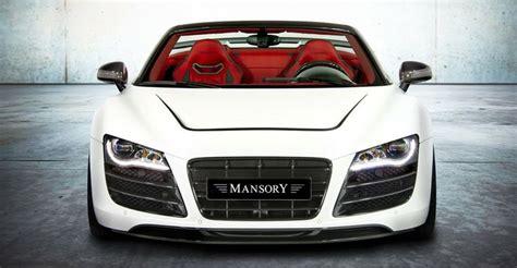 Audi Aa by Mansory Wantanr8 Spyder Cars