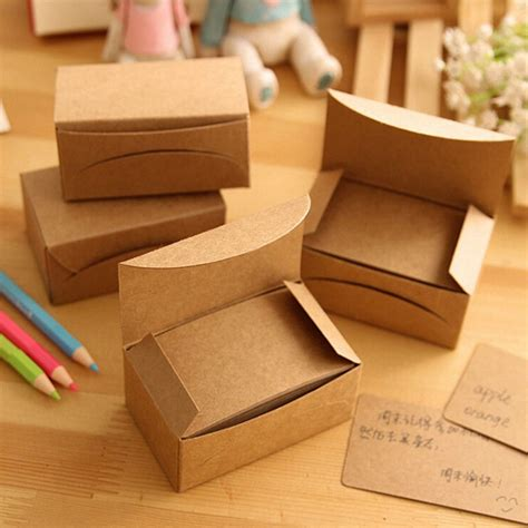 20 pcs lot black white kraft paper memo pad note pads