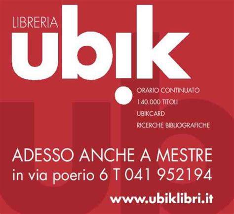 libreria mestre ubik la nuova libreria di mestre inaugurazione venerd 236