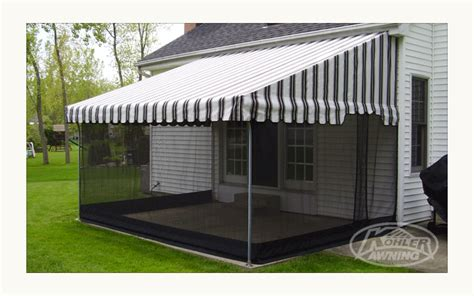 awning with screen aluminum patio awning posts 187 design and ideas