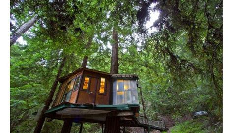 treehouse vacations redwood treehouse tiny house vacations treehouses