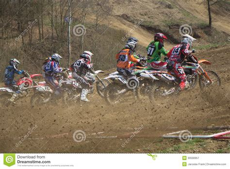 how to start racing motocross start of motocross race editorial photography image