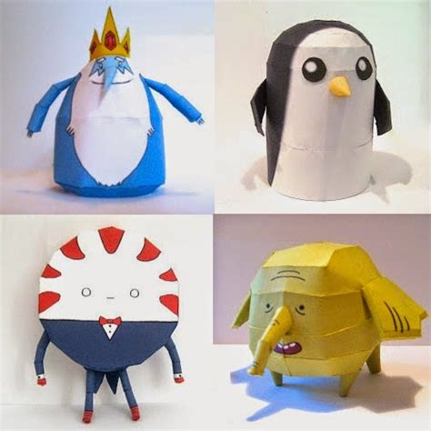 Adventure Time Paper Crafts - adventure time papercraft
