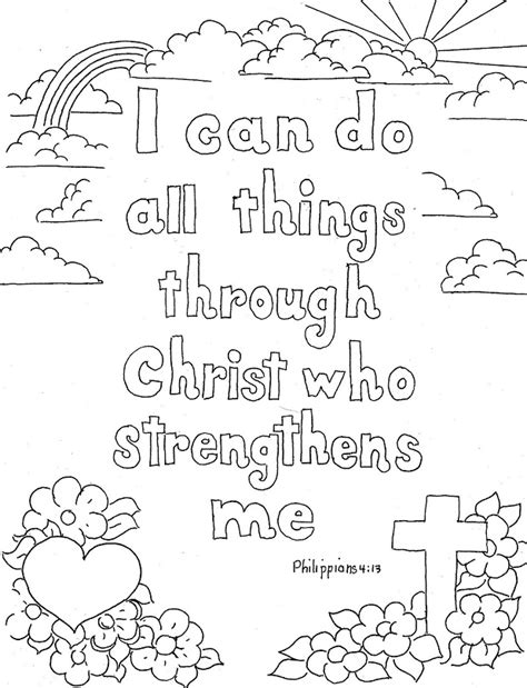 bible verse coloring page az coloring pages