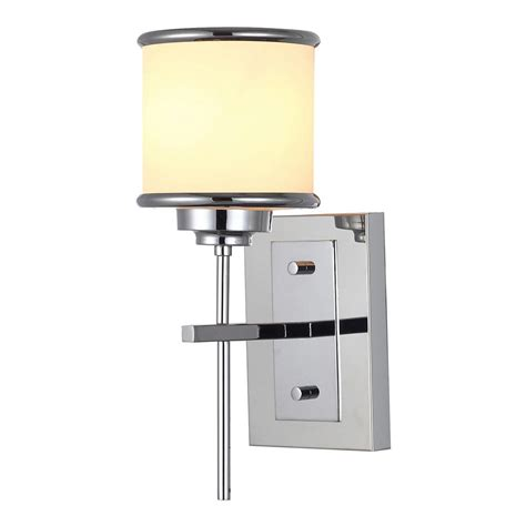 Where To Buy Wall Sconces Gatco Latitude Ii 1 Light Chrome Sconce 1680 The Home Depot
