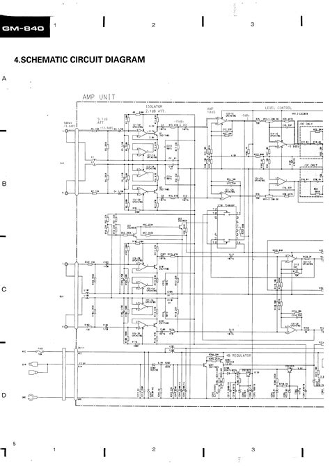 pioneer gm 840 wiring diagram wiring diagram with