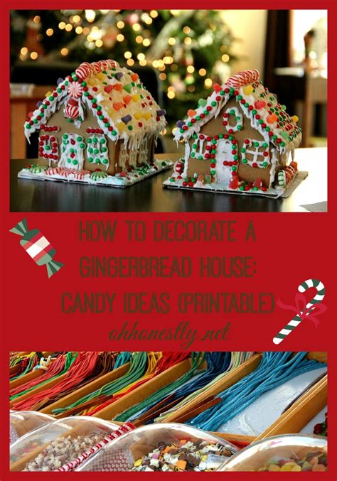 How To Decorate A Gingerbread House by How To Decorate A Gingerbread House Ideas Printable
