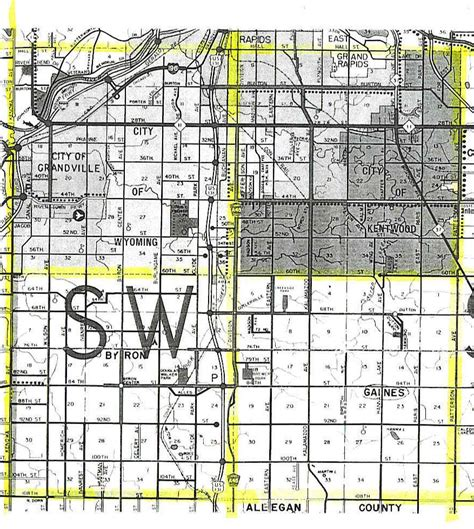 section layout township wyoming plat maps oregon map