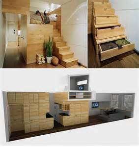 Space Saving Home Design Economic Design Small Apartment With Full Functionality