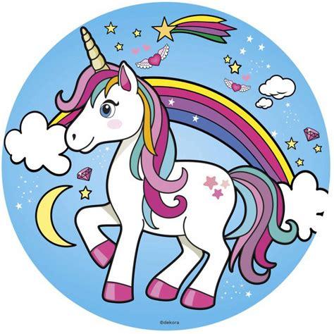 ver imagenes unicornios oblea unicornio 1 dekora