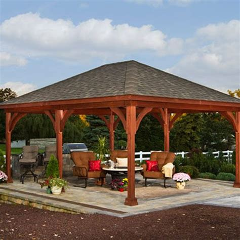 12 x 20 gazebo traditional wood pavilions country gazebos