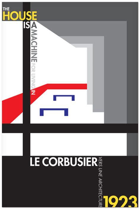 Le Corbusier Poster Series   Michael Downs Portfolio