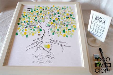 cuadro de firmas para boda cuadros de firmas con huellas en tu boda o celebraci 243 n