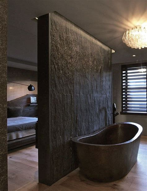 dark bathroom ideas 20 rustic bathroom designs with copper bathtub