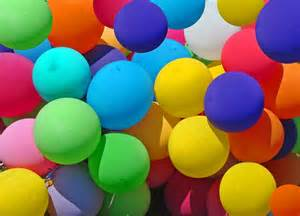 happy colours party hat multi coloured latex balloons