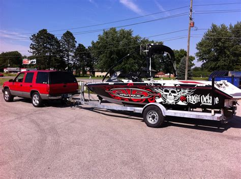 nautique boats apparel hygh octane graphics boat wraps graphics