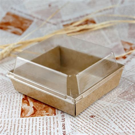 How To Make Paper Bread - square pet cover and brown kraft paper sandwich cake bread