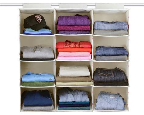 4 Closet Organizer by Essential Hanging 4 Shelf Closet Organizer Single