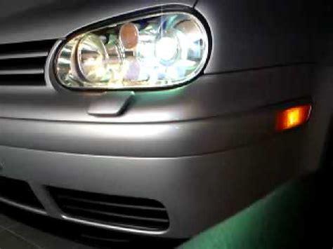 vw golf  xenon headlight washer youtube