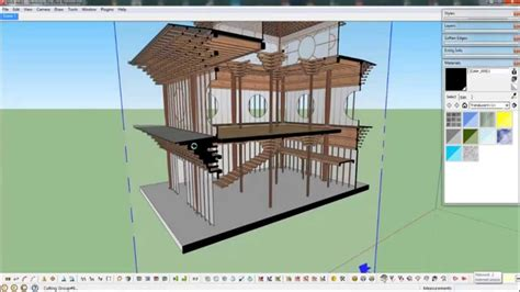 sketchup sections sketchup plugin section cut face youtube