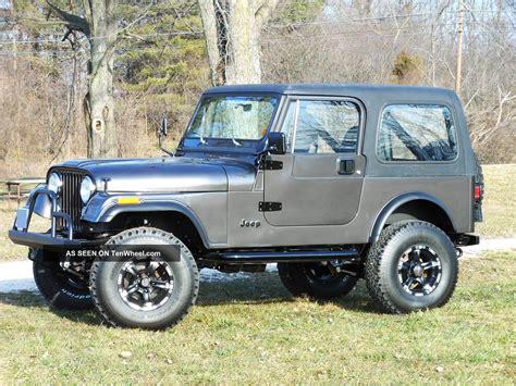 Cj 7 Jeep Jeep Cj7 1985 Cj 7