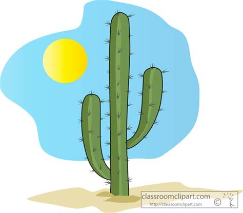 cactus clipart desert clipart saguaro pencil and in color desert