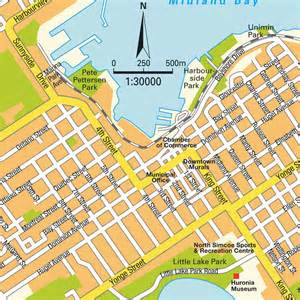 midland maps map midland on ontario canada maps and directions at