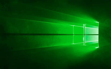 Wallpaper Windows 10 Green | windows 10 wallpaper green by mrmooons on deviantart