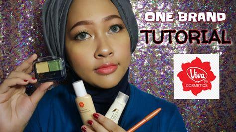 tutorial dandan cantik viva cosmetics one brand makeup tutorial 9 not 100k