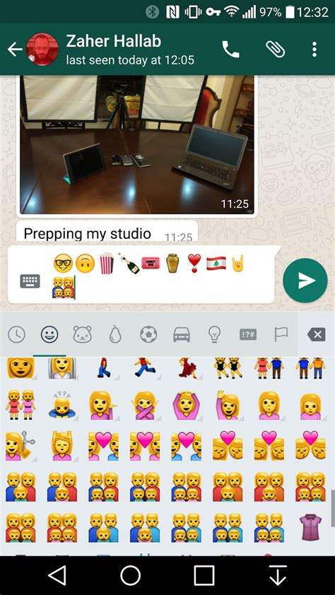 new emoji for android whatsapp for android got a ton of new emoji