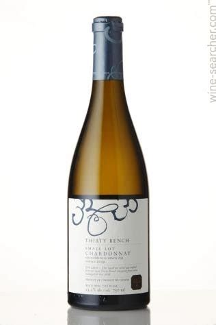 beamsville bench wineries tasting notes thirty bench wine makers small lot chardonnay beamsville bench canada