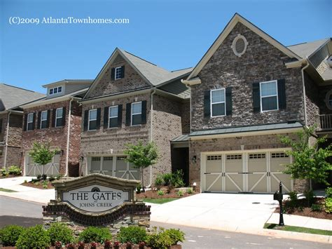 New Homes In Johns Creek Ga by Gates At Johns Creek Townhomes In Johns Creek Ga
