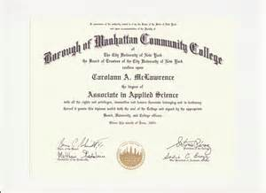 Certification Letter For Community Service Education Degree Certification Carolann Mclawrence S Eportfolio
