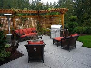 small patio ideas budget:  budget for small backyard concrete patio ideas on a budget backyard
